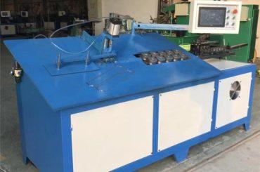2D CNC เครื่องม้วนลวดเหล็กอัตโนมัติ