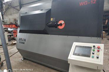 อุปกรณ์เครื่องจักรอุตสาหกรรมของแถบข้ออ้อยที่ทำจากเครื่องชุบเกลียวอัตโนมัติของจีน